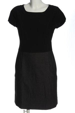 Comma Falda estilo lápiz negro-gris claro estilo «business»