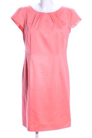 Comma Abito longuette rosa stile casual