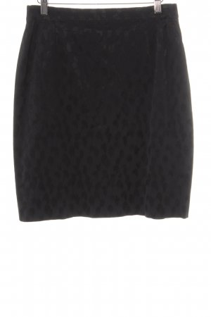 Comma Pencil Skirt taupe-grey spots-of-color pattern animal print