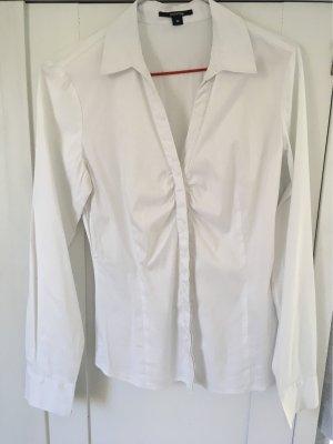 Comma Long Sleeve Blouse white