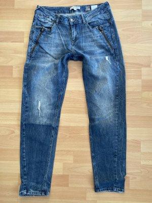 Comma Boyfriend Jeans Gr 36 Blau
