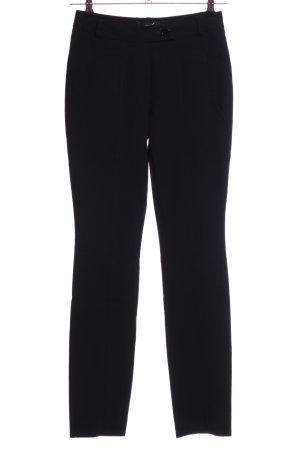 Comma Pantalón de pinza negro estilo «business»