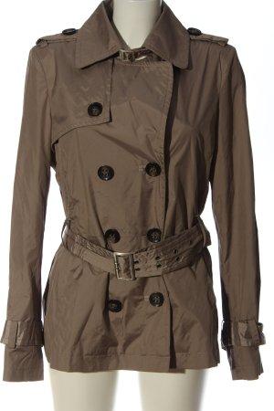 Comma Heavy Pea Coat brown elegant