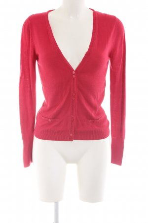 Comma Cardigan rot Casual-Look