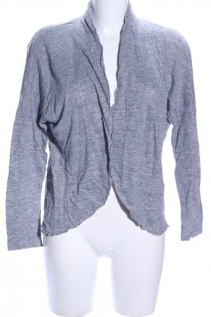 Comma Cardigan blau meliert Casual-Look