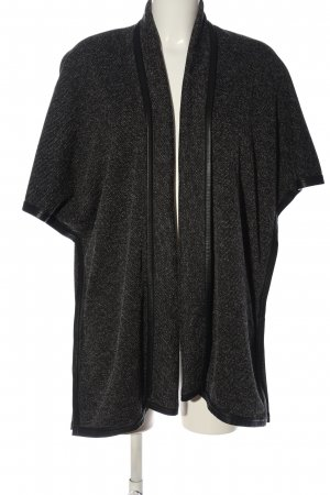 Comma Cardigan schwarz-weiß Casual-Look