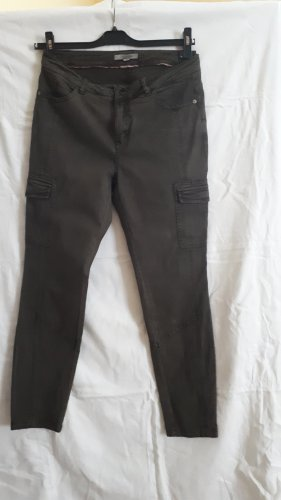 Comma Pantalone cargo verde oliva-cachi