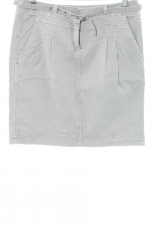 Comma Cargo Skirt light grey casual look