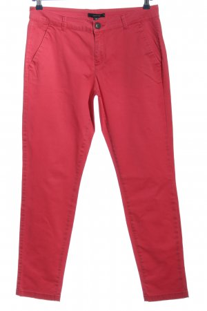 Comma Chinohose pink Casual-Look