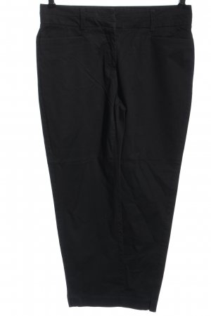 Comma Chinohose schwarz Casual-Look