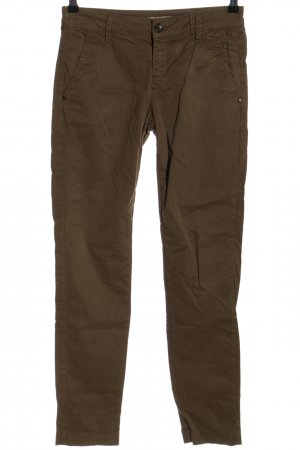 Comma Chinohose braun Casual-Look