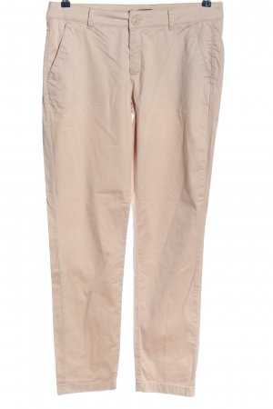 Comma Chinohose creme Casual-Look