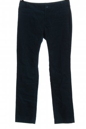 Comma Corduroy Trousers blue casual look