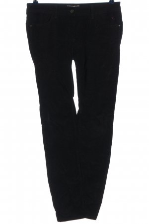 Comma Cordhose schwarz Casual-Look