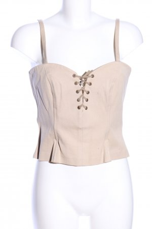 Comma Corsagen Top creme Casual-Look