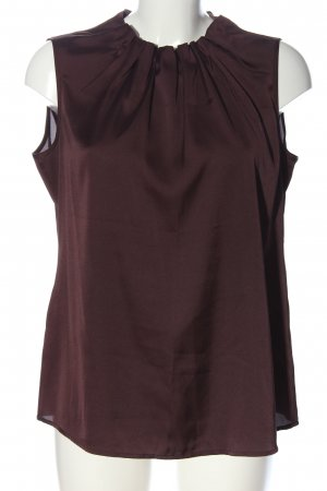 Comma Blusa Crash marrone elegante