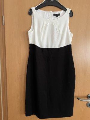 Comma Damen  Kleid  schwarz weiß gr. 36