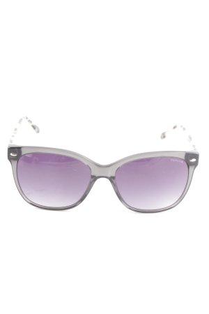 Comma eckige Sonnenbrille grau-nude Casual-Look
