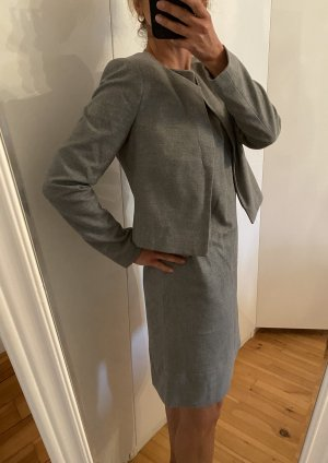 Comma Ladies' Suit silver-colored-grey