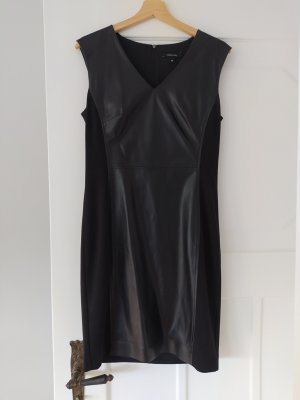 Comma Leather Dress black