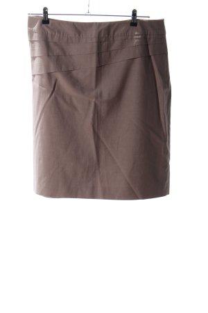 Comma Jupe à plis brun style d'affaires