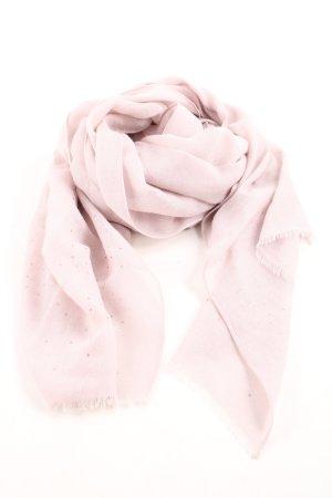 Comma Fransenschal pink Casual-Look