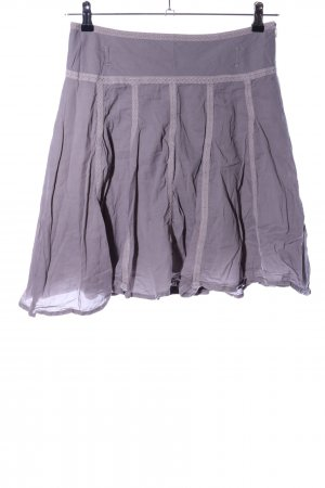 Comma Flared Skirt light grey casual look