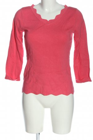 Comma Grobstrickpullover pink Casual-Look