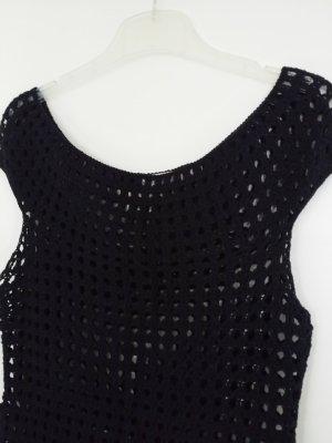 Comma Gehaakt shirt zwart