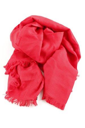 Comma Halsdoek rood casual uitstraling