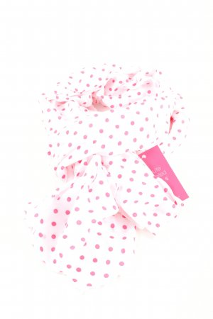 Comma Neckerchief pink spot pattern elegant