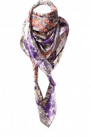 Comma Neckerchief multicolored wet-look