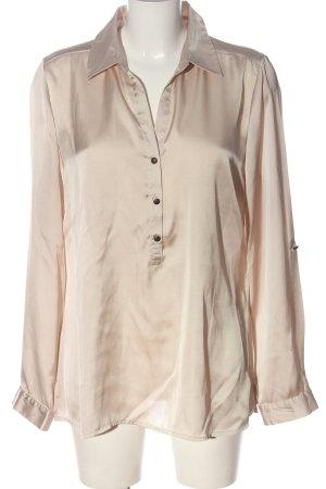 Comma Camicia blusa crema elegante