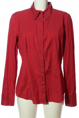 Comma Hemd-Bluse rot Casual-Look