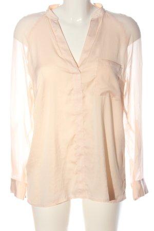 Comma Blusa-camisa crema look casual