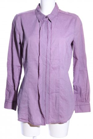 Comma Hemd-Bluse lila Casual-Look