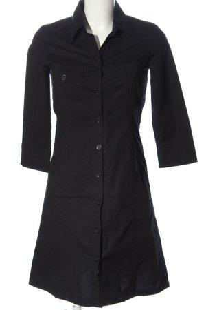 Comma Vestido tipo blusón negro look casual