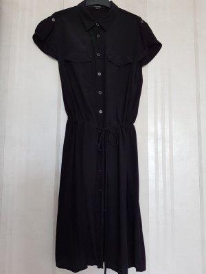 Comma Vestido tipo blusón negro