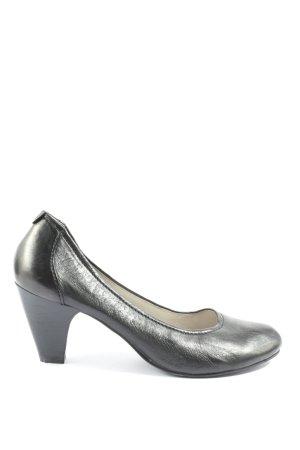 Comma High Heels schwarz Casual-Look