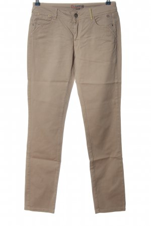 Comma Five-Pocket-Hose wollweiß Casual-Look