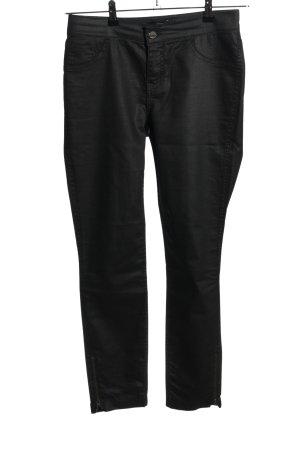 Comma Jeans a vita alta nero stile casual