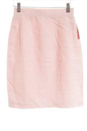 Comma Jupe taille haute rose clair style minimaliste