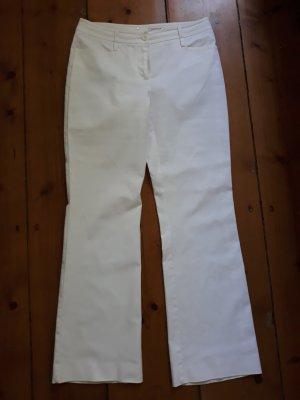 Comma Jersey Pants white