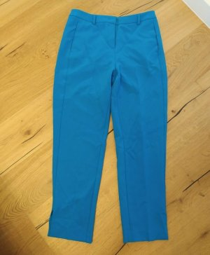 Comma Pantalone a 7/8 blu neon