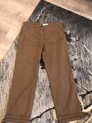 Comma Pantalone a sigaretta marrone