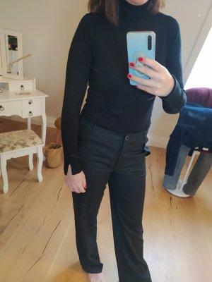 Comma Pantalone palazzo nero