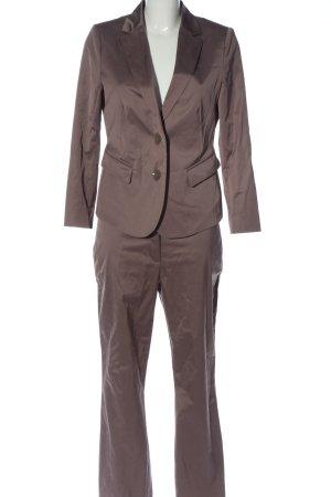 Comma Garnitur damski brązowy W stylu biznesowym