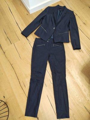 Comma Hosenanzug Anzug Business Zipper