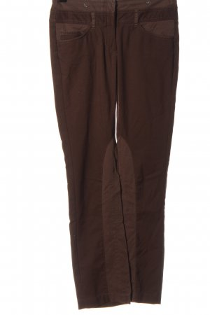 Comma Low-Rise Trousers brown casual look