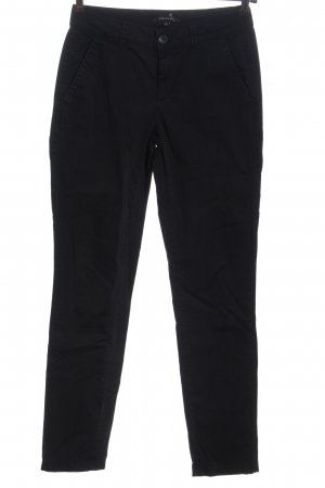 Comma Low-Rise Trousers black casual look